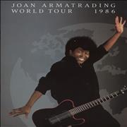 Joan Armatrading World Tour 1986 UK tour programme