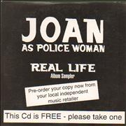 Click here for more info about 'Joan As Police Woman - Real Life - Album Sampler'