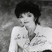 Click here for more info about 'Joan Collins - Autographed Publicity Photograph'