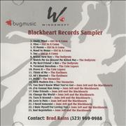 Click here for more info about 'Joan Jett - Blackheart Records Sampler'