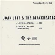 Click here for more info about 'Joan Jett - Love Is All Around'