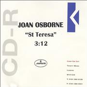 Click here for more info about 'Joan Osborne - St Teresa'