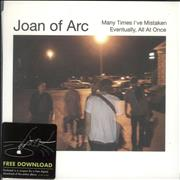Click here for more info about 'Joan of Arc - Many Times I've Mistaken - White Vinyl'