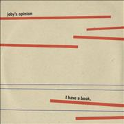 Click here for more info about 'Joby's Opinion - I Have A Book EP'