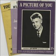 Click here for more info about 'Joe Brown - Quantity of Three Original Sixties Sheet Music Folios'