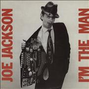Click here for more info about 'Joe Jackson - I'm The Man - Sample sticker'