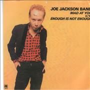 Click here for more info about 'Joe Jackson - Mad At You - A-Label + P/S'
