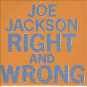 Click here for more info about 'Joe Jackson - Right And Wrong'