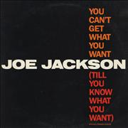 Click here for more info about 'Joe Jackson - You Can't Get What You Want [Till You Know What You Want]'