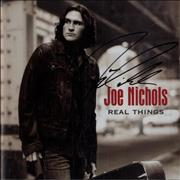 Click here for more info about 'Joe Nichols - Real Things - Autographed'