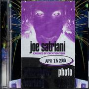 Click here for more info about 'Joe Satriani - Engines Of Creation + Tour Pass & Promo Booklet'