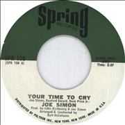 Click here for more info about 'Joe Simon - Your Time To Cry'
