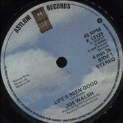 Click here for more info about 'Joe Walsh - Life's Been Good'