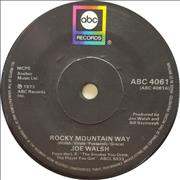 Click here for more info about 'Joe Walsh - Rocky Mountain Way - Solid'