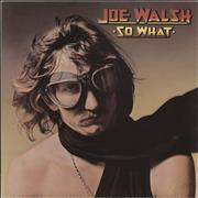 Click here for more info about 'Joe Walsh - So What - 1st'
