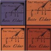 Click here for more info about 'Joel Monroe - Box Elder - Black/Clear Swirl vinyl'