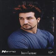 Click here for more info about 'Joey Fatone - Promotional Photograph'