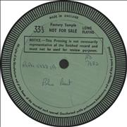 Click here for more info about 'Blue Beat - Test Pressing'