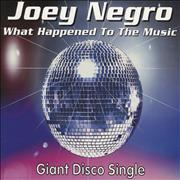 Click here for more info about 'Joey Negro - What Happened To The Music'