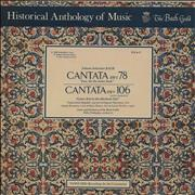 Click here for more info about 'Johann Sebastian Bach - Cantatas No. 78 / No. 106 »Actus Tragicus«'