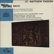 Click here for more info about 'Johann Sebastian Bach - Choruses And Arias From The St. Mathhew Passion'