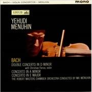Click here for more info about 'Johann Sebastian Bach - Double Concerto in D minor, & Concertos in A minor & E major'