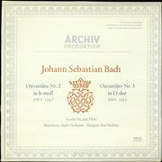 Click here for more info about 'Johann Sebastian Bach - Ouverture Nr. 2 in H-moll / Ouverture Nr. 3 in D-dur'