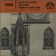 Click here for more info about 'Johannes Brahms - Academic Festival Overture / Tragic Overture / Variations On A Theme Of Haydn'