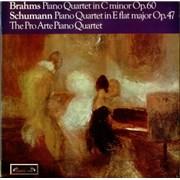 Click here for more info about 'Johannes Brahms - Piano Quartet in C minor / Piano Concerto in E-flat major'