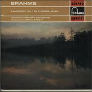 Click here for more info about 'Johannes Brahms - Symphony No. 1 in C Minor, Op.68'