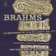 Click here for more info about 'Johannes Brahms - Symphony No. 2 in D Major / Academic Festival Overture'