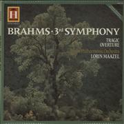 Click here for more info about 'Johannes Brahms - Symphony No. 3 in F Major Op.90 / Tragic Overture, Op.81'