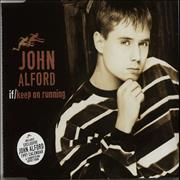 Click here for more info about 'John Alford - If I Keep On Running - Calendar Sleeve'