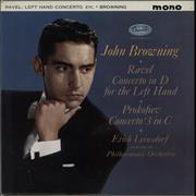 Click here for more info about 'John Browning - Ravel: Concerto In D For The Left Hand / Prokofiev: Concerto No. 3 In C - Sample'