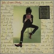 John Cooper Clarke Me And My Big Mouth - Hype stickered UK vinyl LP