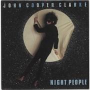 "John Cooper Clarke Night People UK 7"" vinyl"
