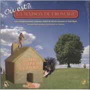 Click here for more info about 'John Cooper Clarke - Ou Est La Maison De Fromage? - Orange - Sealed'