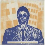 """John Cooper Clarke Suspended Sentence - Blue/Orange Sleeve UK 7"""" vinyl"""
