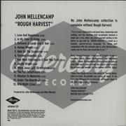 Click here for more info about 'John Cougar Mellencamp - Rough Harvest'
