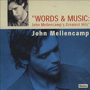 Click here for more info about 'John Cougar Mellencamp - Words & Music - John Mellencamp's Greatest Hits'