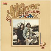 Click here for more info about 'John Denver - Back Home Again - White label'