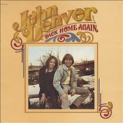 Click here for more info about 'John Denver - Back Home Again - Textured Sleeve'