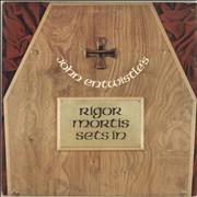 Click here for more info about 'John Entwistle - Rigor Mortis Sets In - EX'