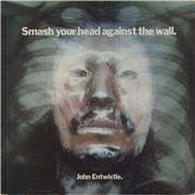 John Entwistle Smash Your Head Against The Wall - EX UK vinyl LP