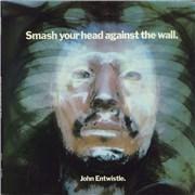 John Entwistle Smash Your Head Against The Wall USA vinyl LP