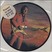 """John Entwistle Too Late The Hero - Autographed UK 7"""" picture disc"""