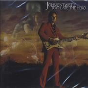 Click here for more info about 'John Entwistle - Too Late The Hero'