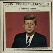 Click here for more info about 'John F. Kennedy - John Fitzgerald Kennedy - A Memorial Album'