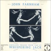 Click here for more info about 'John Farnham - Emphasis Tracks From The LP Whispering Jack'