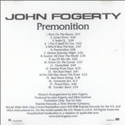 Click here for more info about 'John Fogerty - Premonition'